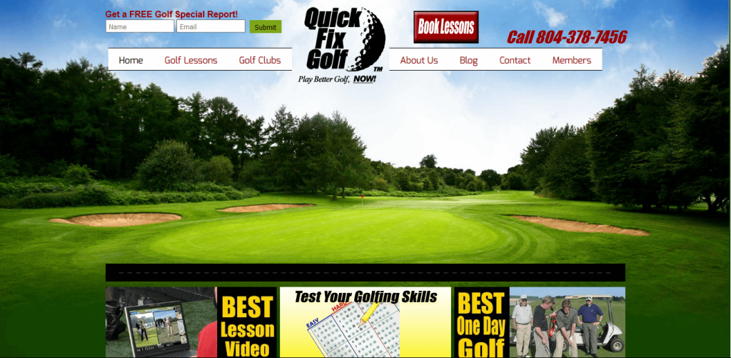 Golf Lessons and Instruction by Bobby Lopez